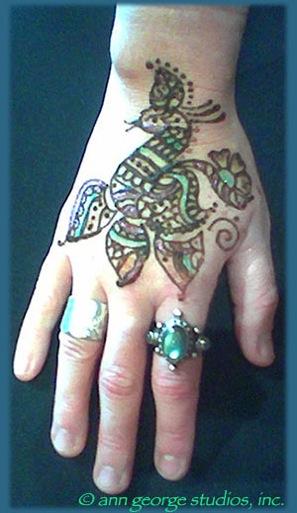 Gilded Henna Tattoo Gilding Body Art In Jacksonville Florida